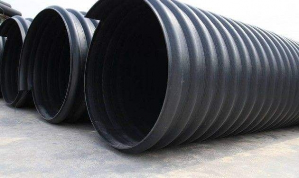鹤壁HDPE钢带缠绕管