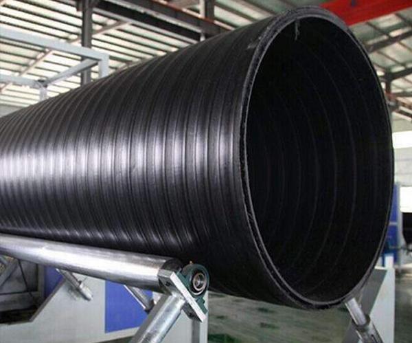 鹤壁HDPE双平壁塑钢缠绕管