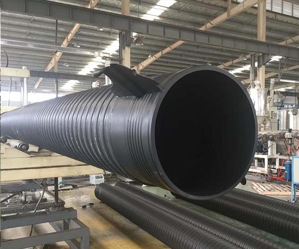 HDPE双平壁缠绕管