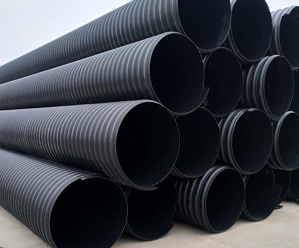鹤壁HDPE钢带管